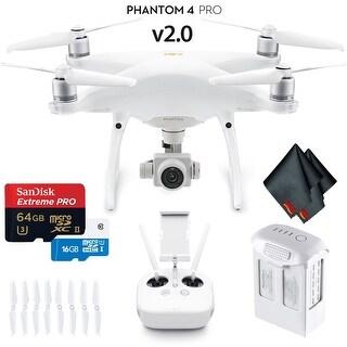 DJI Phantom 4 Pro Version 2.0 Quadcopter Starters Kit