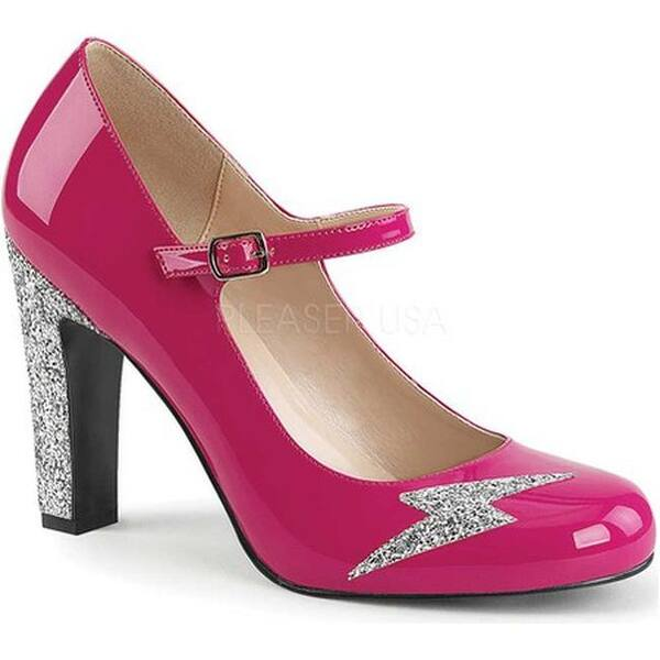 Hot Pink Mary Jane Heels