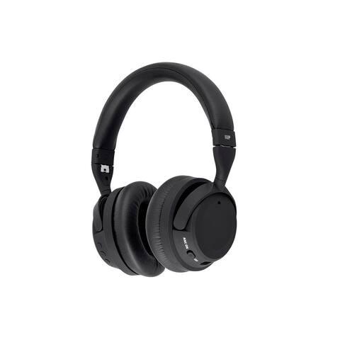Monoprice BT-500ANC Bluetooth Wireless Over Ear Headphones with aptX-HD