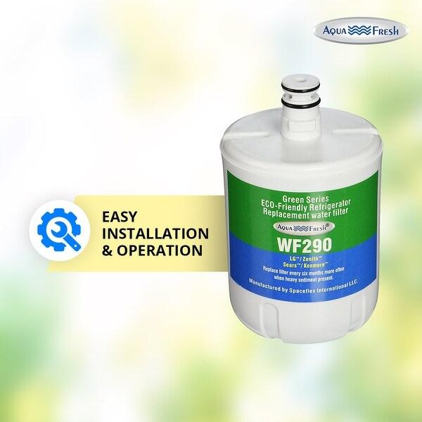 Aqua Fresh Replacement Water Filter Fits LG 5231JA2002A Refrigerators 3 Pack