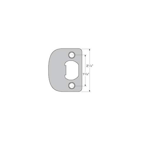"""Kwikset 83796 Full Lip 1/4"""" Round Corner (RCS4)"""