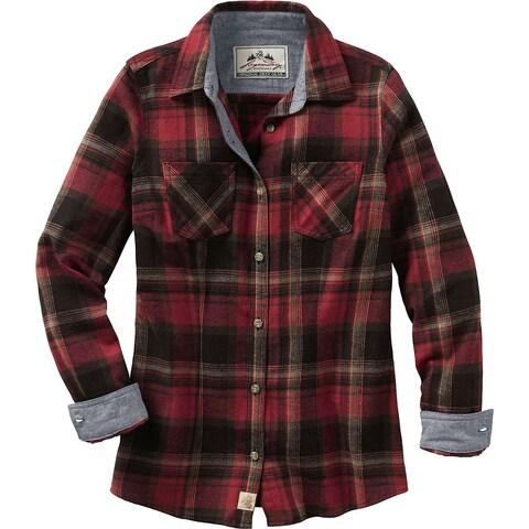 Legendary Whitetails Ladies Cottage Escape Flannel Shirt