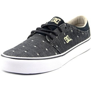 DC Shoes Trase TX SE Men Round Toe Canvas Black Skate Shoe