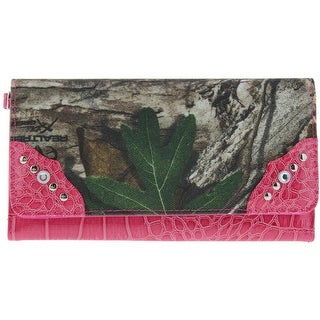 Kenneth Cole Reaction Womens Patent Camouflage Clutch Wallet