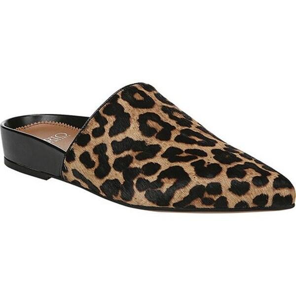 132bf64b6 Sarto by Franco Sarto Women's Irma Pointed Toe Mule Camel Sahara  Leopard