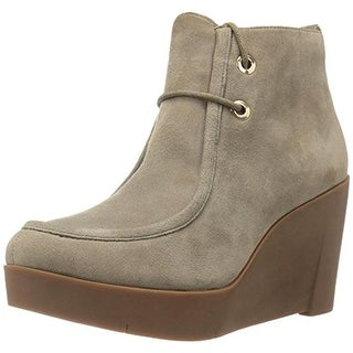 Sudini Womens Darlene Ankle Boots Suede Booties