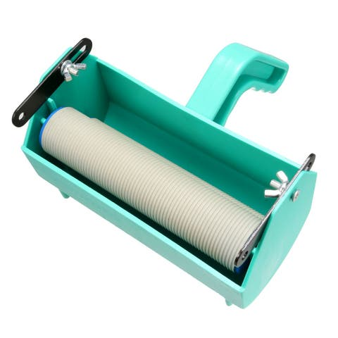 Single Color Decoration Painting Paint Roller Machine for 7 Inch Roller Brush