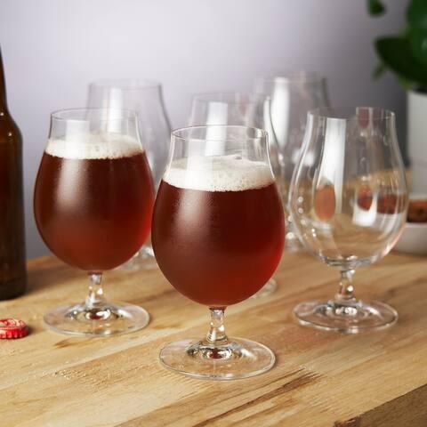 """Spiegelau 15.5 oz Beer Tulip glass (set of 6) - 6.1"""" x 3.5"""""""