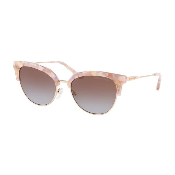 Michael Kors MK1033 334168 54 Pastel Pink Mosaic/shiny Rose Woman Irregular Sunglasses. Opens flyout.
