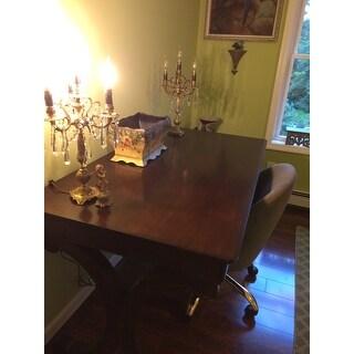 Brookview Rustic Cherry Writing Desk