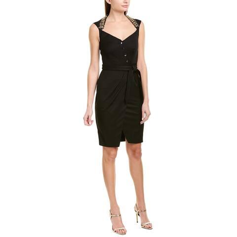 Pinko Tie-Waist Sheath Dress