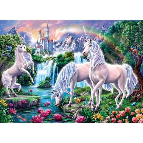 Magical Unicorns 500 pcs. Jigsaw Puzzle for Adults & Kids