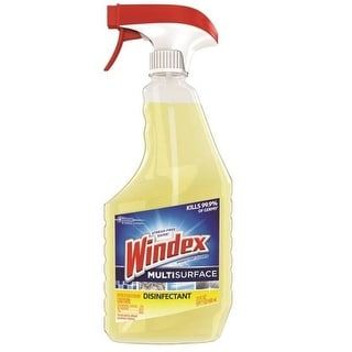 Windex 70251 Multi-Surface Disinfectant Cleaner, Yellow, 26 Oz