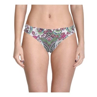 Becca by Rebecca Virtue Womens Printed American Fit Swim Bottom Separates