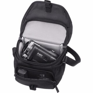 Sony LCS-U11 Black Soft Carrying Case