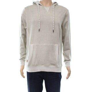 Astrneme NEW Beige Speckled Mens Size Medium M Hooded Hoodie Sweater