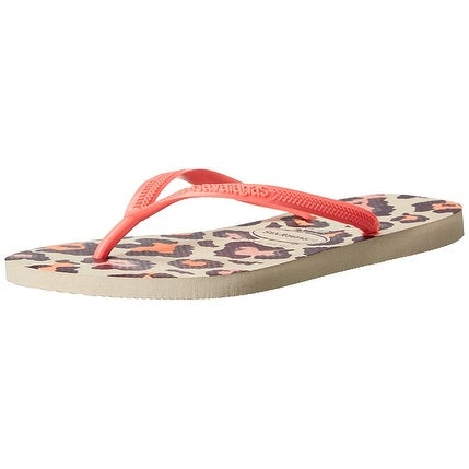 7c2e0fad1 Shop Havaianas Womens Slim Animals Round Toe Beach Slide Sandals - On Sale  - Free Shipping On Orders Over  45 - Overstock.com - 19808221