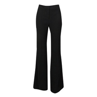 Nine West Women's Solid Skinny Leg Trousers - Black