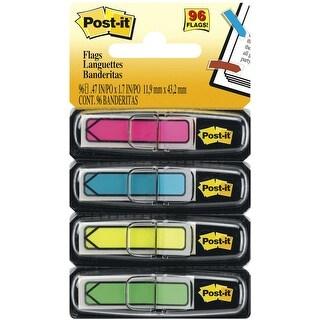 "Post-It Arrow Flags .47""X1.7"" 96/Pkg-Assorted Neon Colors"