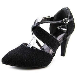 Bellini Melanie Pointed Toe Canvas Heels