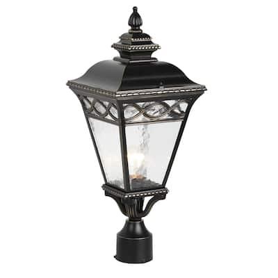 Cheri 1 Light Exterior Lighting in Imperial Black Finish