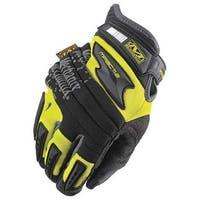 Mechanix Wear  Safety Hi-Viz M-Pact 2 Glove - Yellow, Large