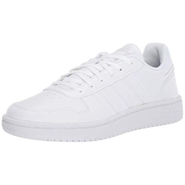 adidas Women's Hoops 2.0 Sneaker, White