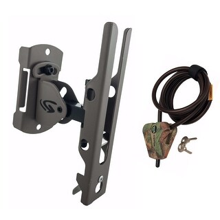 Cuddeback Genius Pan Tilt Lock Universal Trail Camera Mount and Cable Lock Kit