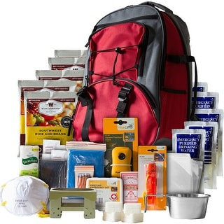 Wise prepared meals 01621gsg wise 5 day survival pack in red backpack