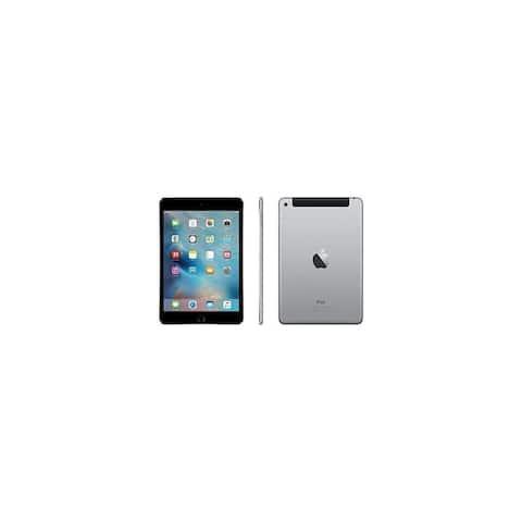 Apple iPad Mini 4 Space Gray - WiFi + Cellular Certified Refurbished
