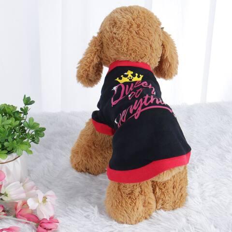 c7649abe08208 Dog T Shirt Puppy Small Pet Cat Sweatshirt Tops Clothes Apparel Vest  Clothing