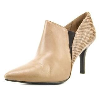 Anne Klein Yeppy Pointed Toe Leather Heels