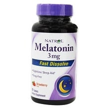 Natrol Melatonin 3mg Fast Dissolve (90 Tablets)