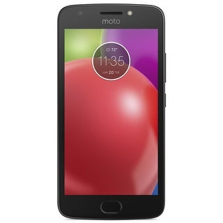 Motorola Moto E4 XT1768 16GB Unlocked Phone w/ 8MP Camera - Licorice Black (Certified Refurbished) - Licorice Black