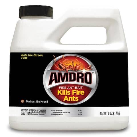Amdro 100099058 Fire Ant Killer Bait, 6 Oz