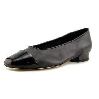 Vaneli FC-313 Women W Round Toe Leather  Heels