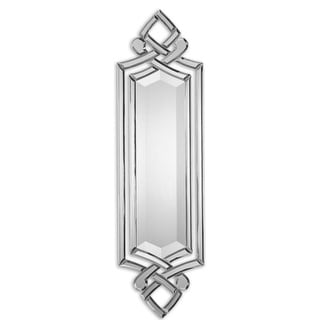 "36"" Narrow Hand Beveled Vertical or Horizontal Accent Wall Mirror - N/A"
