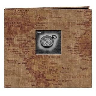 Alvin MB10MAPW 12x12 Postbnd Album World Map