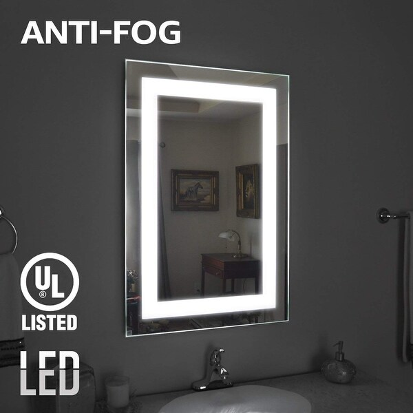 Shop Fogless Led Lighted Makeup Mirror Wall Mounted
