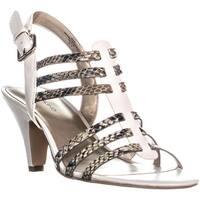 Bandolino Deanne Ankle Strap Dress Sandals, Natural Multi - 8.5 us
