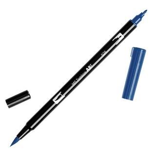 Tombow Dual Brush Pen Art Marker, 528 - Navy Blue, 1-Pack