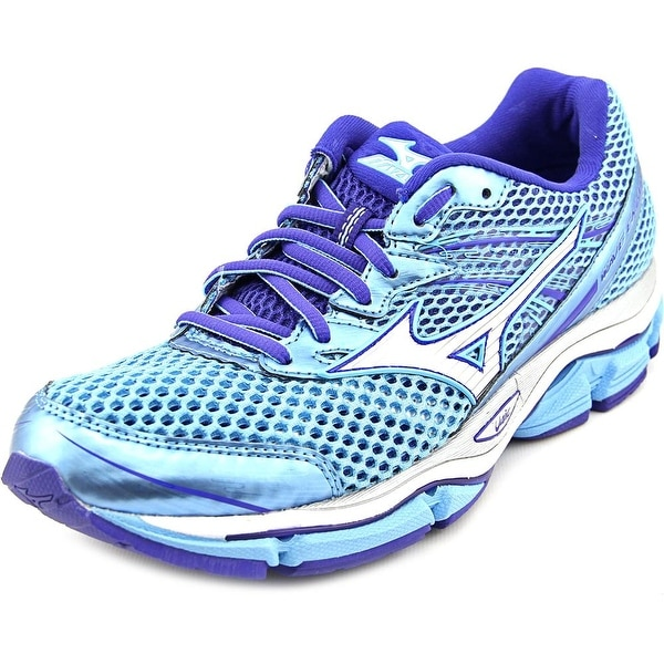 Mizuno Wave Enigma 5 Women Round Toe Synthetic Blue Running Shoe
