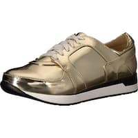Penny Loves Kenny Womens Techno Low Top Lace Up Fashion Sneakers