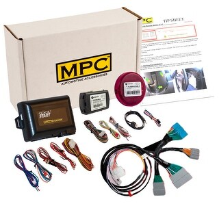 Complete Plug-n-Play Factory Remote Activated Remote Start Kit For 2014-2017 Honda Odyssey - Includes Software Loader