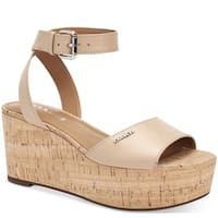 Coach Womens Becka Open Toe Casual Platform Sandals