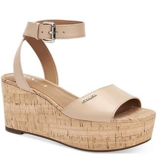 Coach Womens Becka Open Toe Casual Platform Sandals