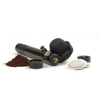Handpresso HPWILDHYBRID Wild Hybrid Portable Manual Espresso Maker - Black