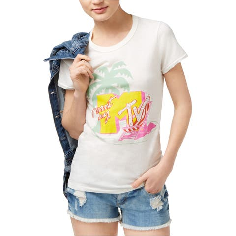 Junk Food Womens Mtv Graphic T-Shirt