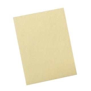 Pacon Heavy Weight Drawing Paper, 60 lb, 12 X 18 in, Manila Cream, Pack of 500