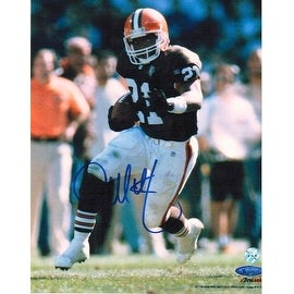 Autographed Eric Metcalf Cleveland Browns 8x10 Photo
